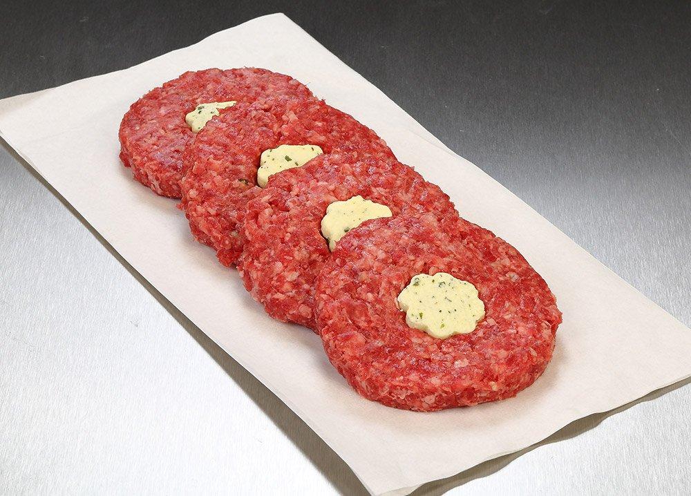 Garlic Beef Burgers