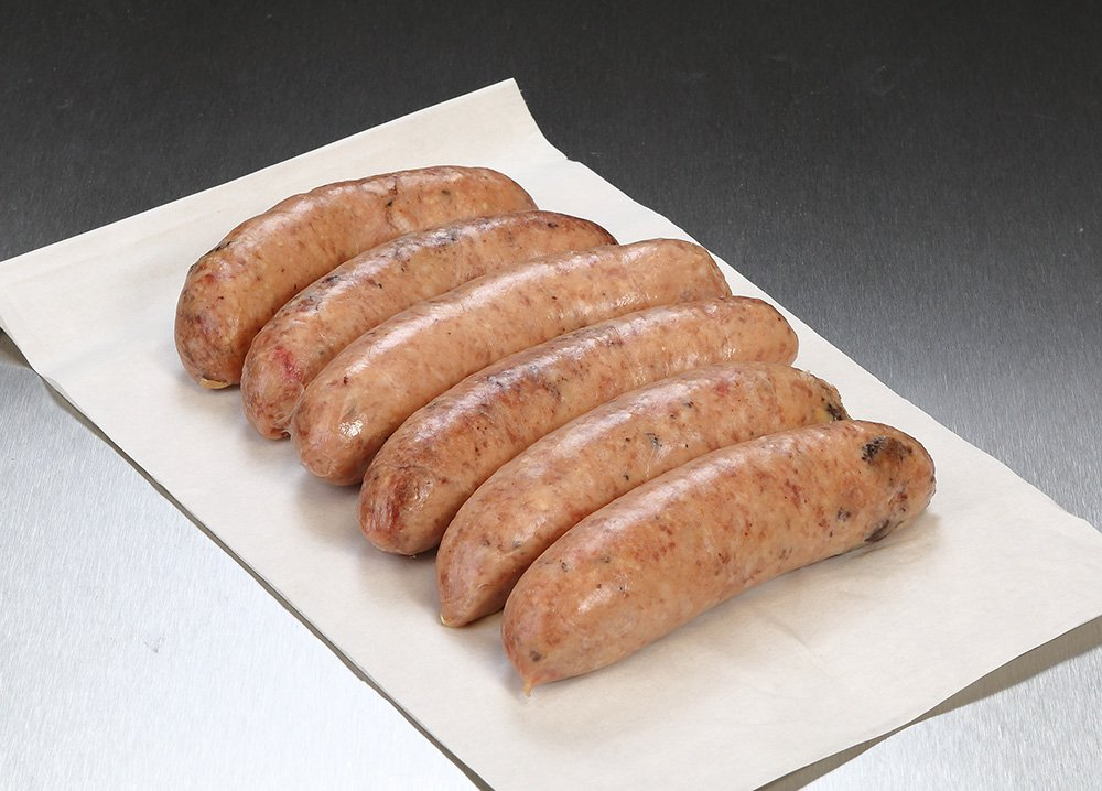 Pork & Black Pudding Sausages