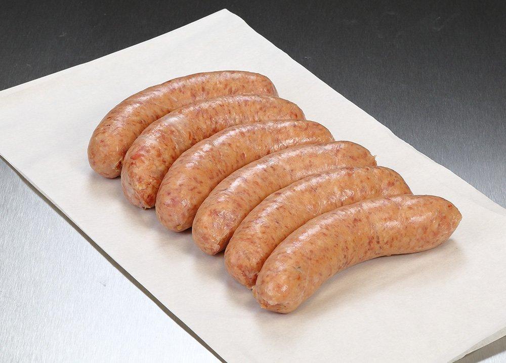 Pork & Tomato Sausages